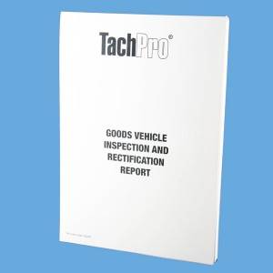 Goods Vehicle Inspection & Rectification Report Books