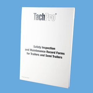 Trailer / Semi Trailer Safety Inspection & Maintenance Report Book